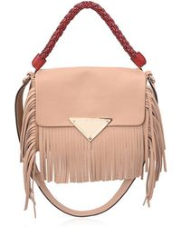 Sara Battaglia | Amber Fringed Leather Bag | Lyst