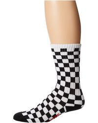 Vans Checkerboard Crew 1pair Pack Little Kidbig Kid - Lyst