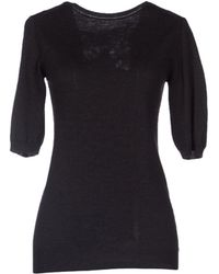 Ermanno Scervino Short Sleeve Sweater - Lyst