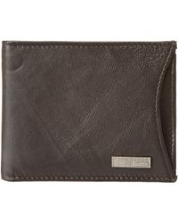 Calvin Klein B Leather Billfold - Lyst