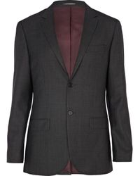 River Island Grey Classic Suit Jacket - Lyst
