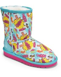 Ugg Infants Toddlers  Kids Classic Short Comic Boots - Lyst
