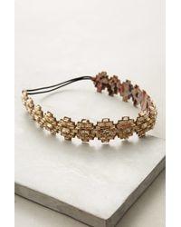 Deepa by Deepa Gurnani - Golden Pyramids Headband - Lyst