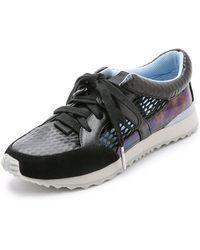 L.A.M.B. Benzo Jogger Sneakers - Black - Lyst