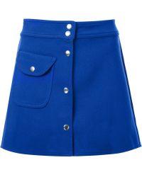 UNIF - A-line Mini Skirt - Lyst