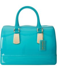 Furla Teal Candy Bag - Lyst