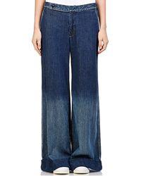 Yohji Yamamoto - Wide-leg Jeans - Lyst