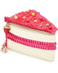 Betsey Johnson - Kitch Cake Wristlet - Lyst