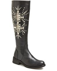Steve Madden 'Diabla' Leather Boot - Lyst
