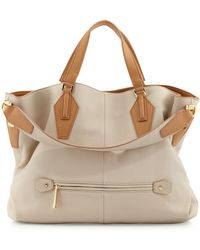 Halston Heritage Beverly Convertible Hobo Bag - Lyst