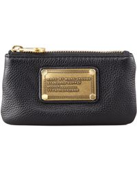 Marc By Marc Jacobs Classic Q Key Pouch Wallet Black - Lyst