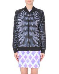 Mary Katrantzou Graphic Print Jersey Jacket - Lyst