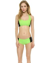 Y-3 | Light Flash Bikini Bottoms - Light Flash Green | Lyst
