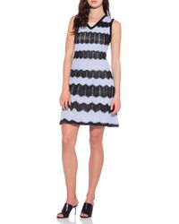 M Missoni Stretch Knit Dress - Lyst