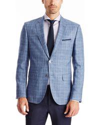 Hugo Boss Jarett | Regular Fit, Virgin-Wool-Linen-Silk Sport Coat - Lyst