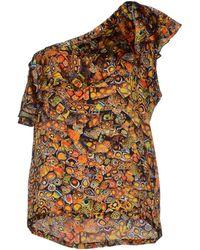 Jean Paul Gaultier Top multicolor - Lyst