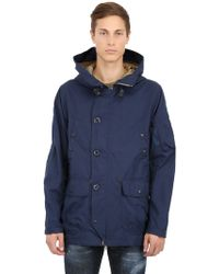 Spiewak Golden Fleece Cotton & Nylon Blend Parka - Lyst
