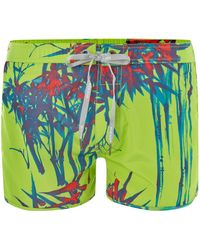 Diesel All Over Plant Print Swim Short - Lyst