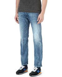 Diesel Iakop Slim-fit Tapered Jeans - Lyst