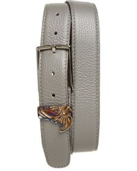 Versace Medusa Leather Belt - Lyst