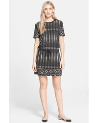 Tory Burch Print T-Shirt Dress - Lyst