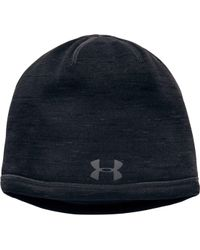 d053190aa12 Lyst - Under Armour Coldgear Reactor Elements Beanie in Black for Men