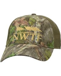 50b42ebb418a Nomad Camouflage Trucker Hat for Men - Lyst