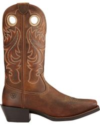 Ariat - Sport Square Toe Western Boots - Lyst