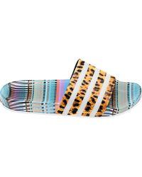 adidas Originals - Adilette Printed Slides - Lyst