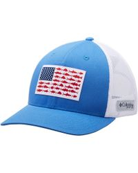 3318e25e Columbia Pfg Mesh Trucker Hat in Blue for Men - Lyst