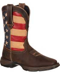 Durango | Rebel Patriotic Pull-on Western Boots | Lyst