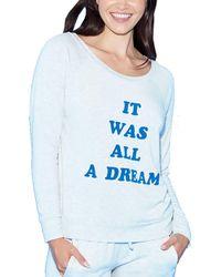 Good Hyouman - Chelsea Graphic Fleece Pullover - Lyst