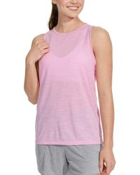 15c76177 Lyst - Nike Plus Size Dry Miler Running Tank Top in White