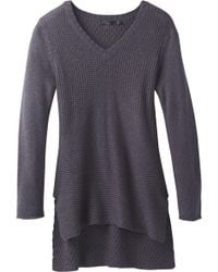 Prana - Deedra Tunic Sweater - Lyst