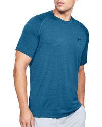 9d2d1049 Lyst - Under Armour Twist Tech Short Sleeve Shirt in Green for Men