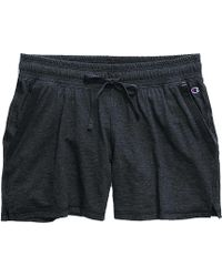 Champion - Heathered Jersey Shorts - Lyst