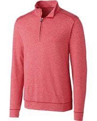 Cutter & Buck - Shoreline Half-zip Golf Pullover - Lyst