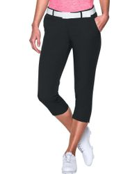 Under Armour - Links Golf Capris - Lyst