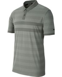 7a73c42e88 Nike Tw Zonal Cooling Stripe Blade Men's Standard Fit Golf Polo Shirt in  Pink for Men - Lyst