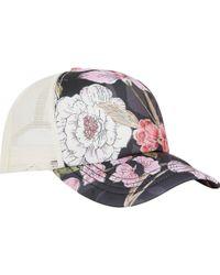 Billabong - Heritage Mashup Trucker Hat - Lyst