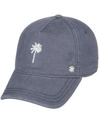 cba9eb4e42e Lyst - Roxy Next Level Baseball Hat in Black
