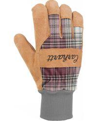 Carhartt - Suede Work Gloves - Lyst