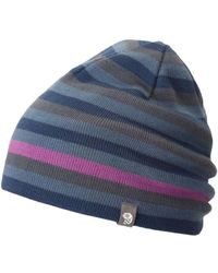 Mountain Hardwear - Stripes Reversible Dome Beanie - Lyst