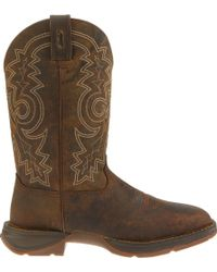 Durango - Rebel Pull-on Steel Toe Work Boots - Lyst