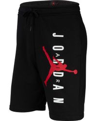 fef638994b15 Lyst - Nike Jumpman Air Gfx Pants in Black for Men