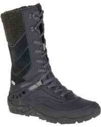 Merrell - Aurora Tall Ice + Waterproof Boot - Lyst