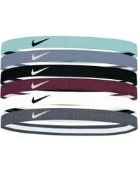 Nike - Swoosh Sport Headbands – 6 Pack - Lyst