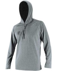 O'neill Sportswear - Hybrid Long Sleeve Sun Hooded Rash Guard - Lyst