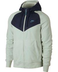 fbf9aa709d Nike - Sportswear Windrunner Full-zip Hoodie - Lyst