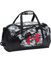 a3047ac4cf6 Lyst - Under Armour Hustle Medium Duffle Bag in Black for Men